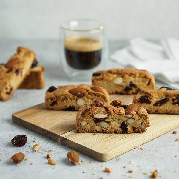 Cantuccini mit Cranberries