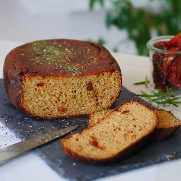 Mediterranes Brot mit Hefewasser